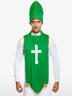 St Patrick's Day Patron - Erwachsenenkostüm Fancy Dress