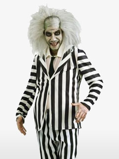 Beetlejuice - Erwachsenenkostüm Fancy Dress