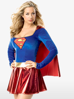 Supergirl - Erwachsenenkostüm Fancy Dress