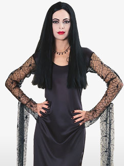 Addams Family Morticia-Erwachsenenkostüm Fancy Dress