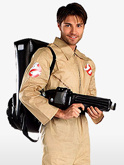 Ghostbuster - Erwachsenenkostüm Fancy Dress