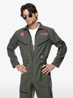 Top Gun Pilot - Erwachsenenkostüm Fancy Dress