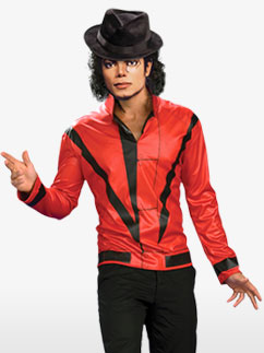 Michael Jackson Thriller-Jacke - Erwachsenenkostüm Fancy Dress