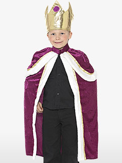 Kiddy König - Kinderkostüm Fancy Dress