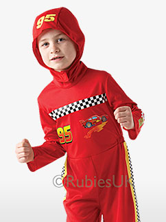 Cars 2 Lightning McQueen Kinderkostüm Fancy Dress