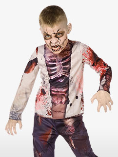 Zombie Junge 3D Kinderkostüm Fancy Dress