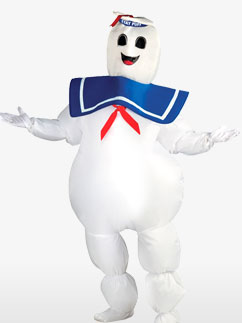 Marshmallow-Mann Ghostbusters - Erwachsenenkostüm Fancy Dress