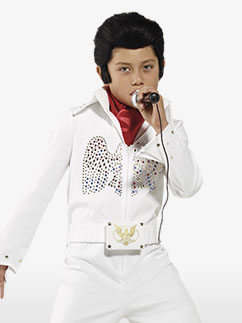 Elvis Kostüm für Kinder Fancy Dress