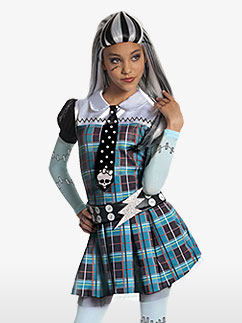 Monster High Frankie Stein-Kinderkostüm Fancy Dress