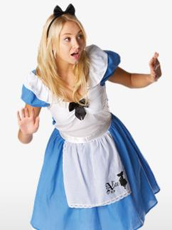 Alice im Wunderland - Erwachsenenkostüm Fancy Dress