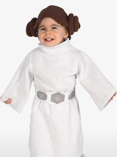 Prinzessin Leia - Kleinkindkostüm Fancy Dress