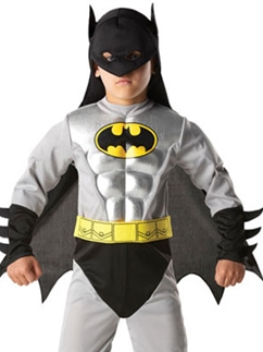 Batman Metallic Classic - Kinderkostüm Fancy Dress