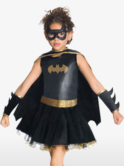 Batgirl - Kinderkostüm Fancy Dress