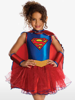 Supergirl - Kinderkostüm Fancy Dress