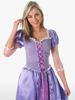 Rapunzel - Erwachsenenkostüm Fancy Dress