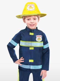 Feuerwehrman - Kinderkostüm Fancy Dress