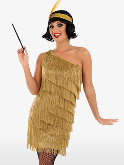 Gold Flapper Dress