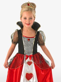 Rote Königin - Kinderkostüm Fancy Dress