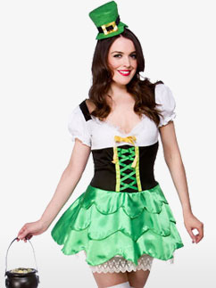 Süße Leprechaun - Erwachsenenkostüm Fancy Dress