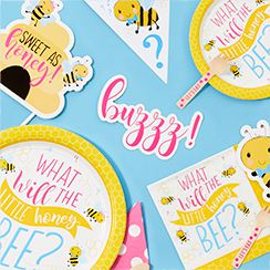 Gender Reveal - Kleines Bienchen