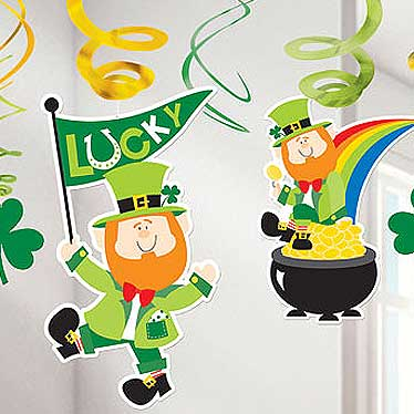 St. Patrick's Day Dekorationen