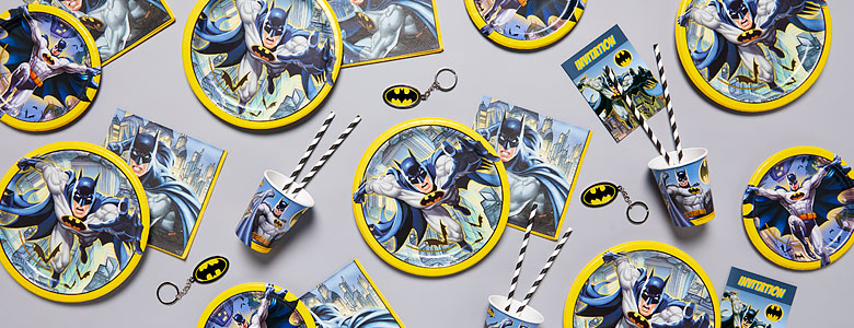 Batman Party Deko