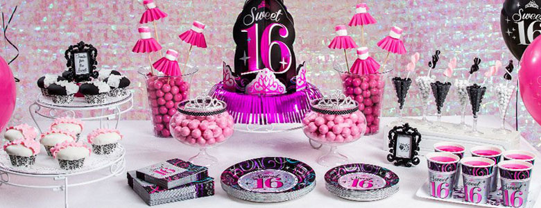 Sweet 16 Party Deko Partycity De