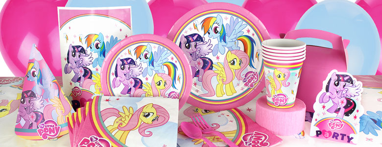 My Little Pony Party Deko