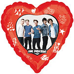 One Direction Folienballon - 46cm