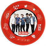 One Direction Pappteller - 23cm