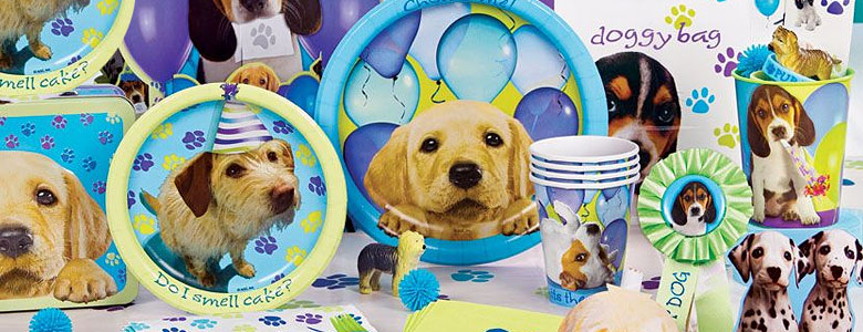 Puppy Dog Party Plates