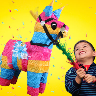 Traditionelle Piñatas