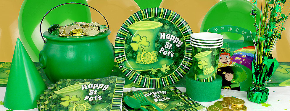 St. Patricks Party Supplies
